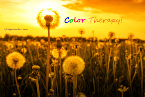 Color therapy!