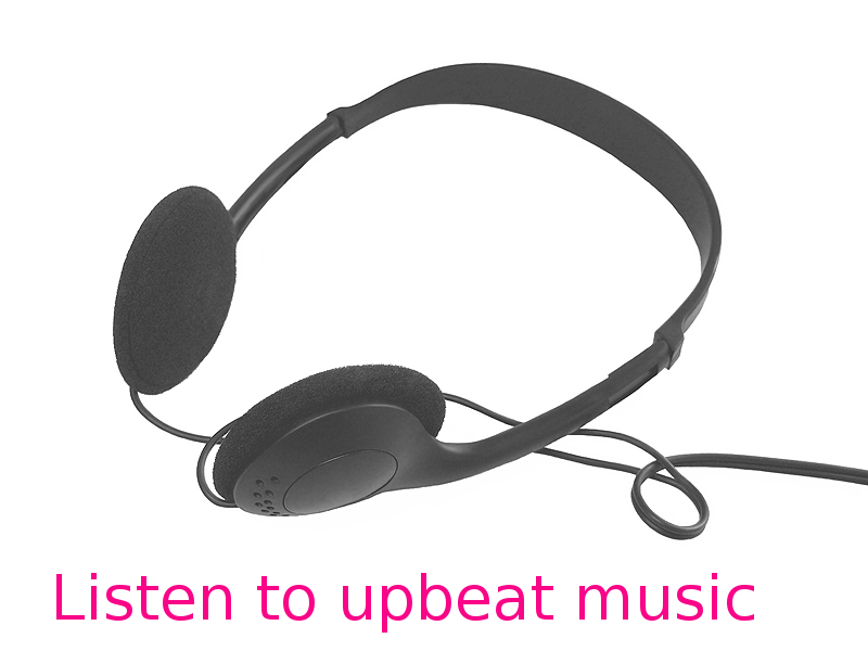 Upbeat Music can Lift Mood