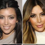 Kim Kardashian before and after from Hollywoodlife.com