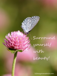 Surround yourself with beauty!