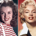 Marilyn Monroe before and after from celebrityplasticsurgeryxp.com
